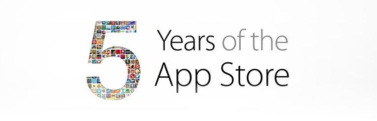 App Store 5th Anniversary