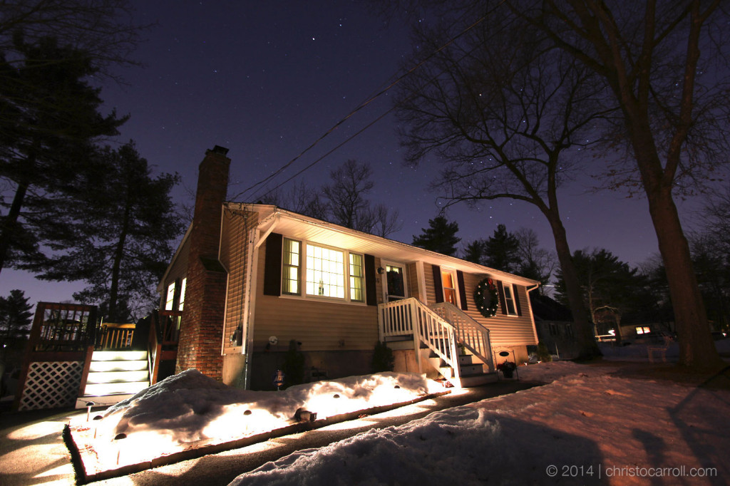 Stars Over The House