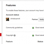 Verify Account to enable external links to youtube videos
