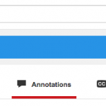 Enable External links to youtube videos with annotations