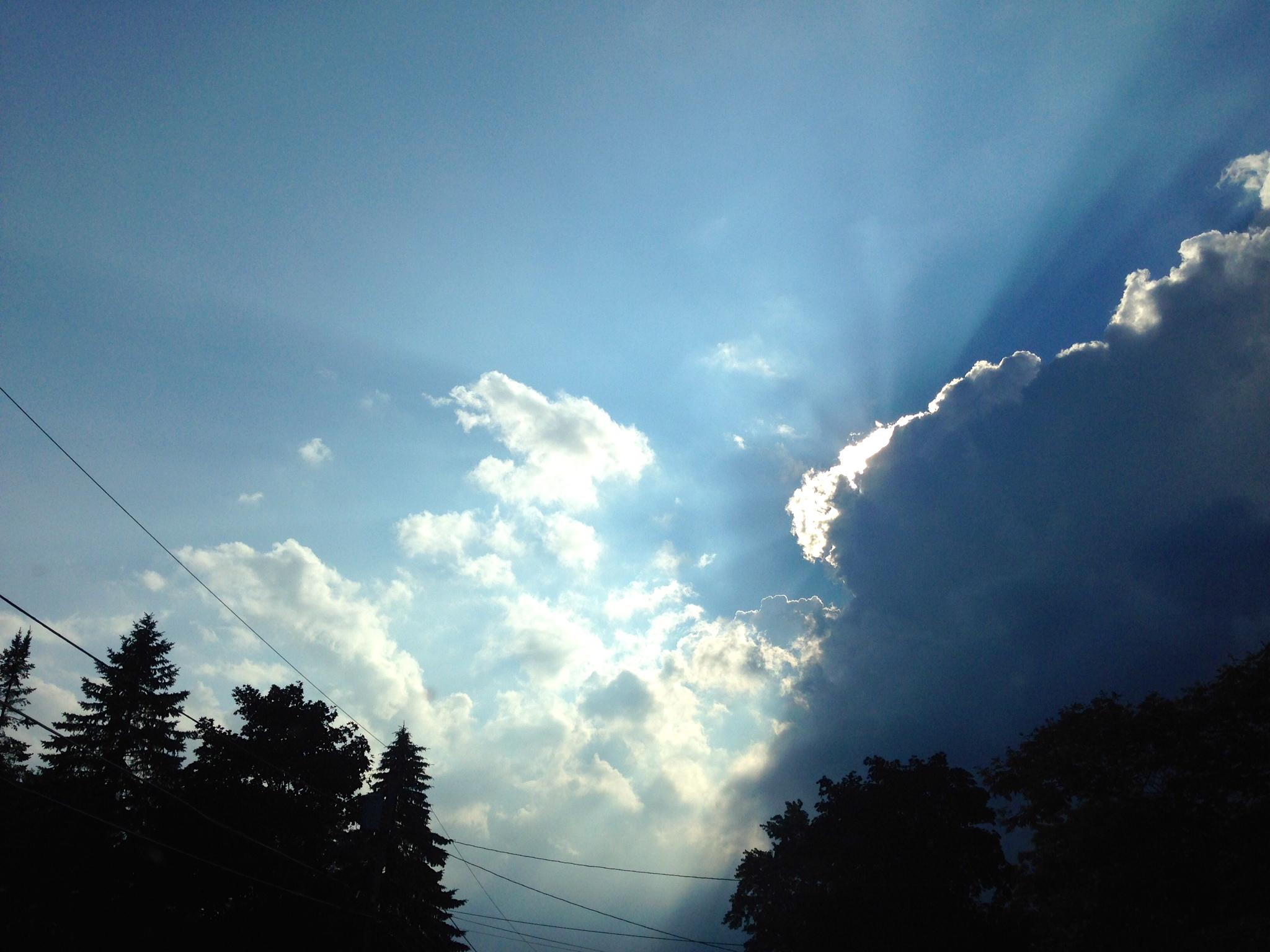 The Peeking Sun
