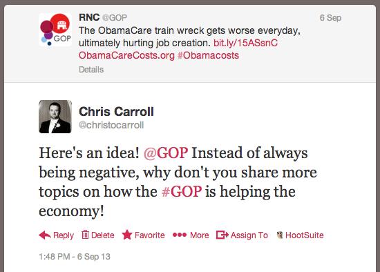 GOP Tweet